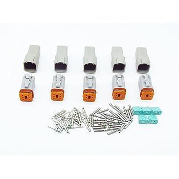 Dt04-6p línea los conectores o enchufes-tubería dt conector macho pin 6 alemán