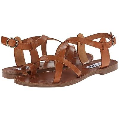 Steve Madden Agathist Sandal (Cognac) Women