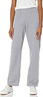 Hanes Women's EcoSmart Sweatpant – Regular and Petite Lengths, Light Steel, Medium Petite
