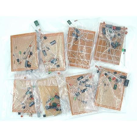 TEKNON 電子基板 ハンダ 付け 練習 キット 部品 付 エレクトロニクス の 初歩 (ミニ)