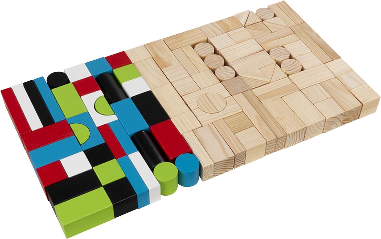KidKraft Super sale period limited New arrival 100pc Wooden Block Set
