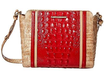 Brahmin Fuego Carrie Crossbody (Ember) Handbags