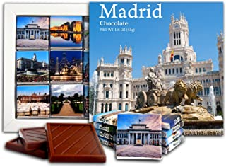 DA CHOCOLATE Candy Souvenir MADRID Chocolate Gift Set 5x5in 1 box (Day)