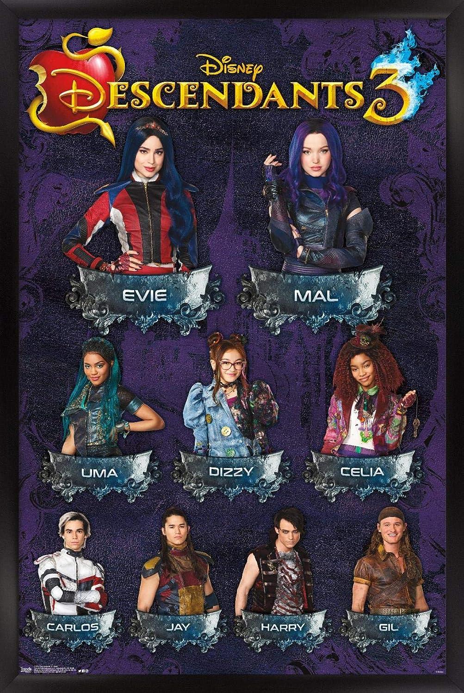 Year-end annual account Trends International Disney Descendants 3 - Superlatite Wall Poster Grid 14