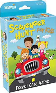 Briarpatch Travel Scavenger Hunt Card Game for Kids, Activities for Family Vacations, Road Trips and Car Rides, Ages 7 and Up