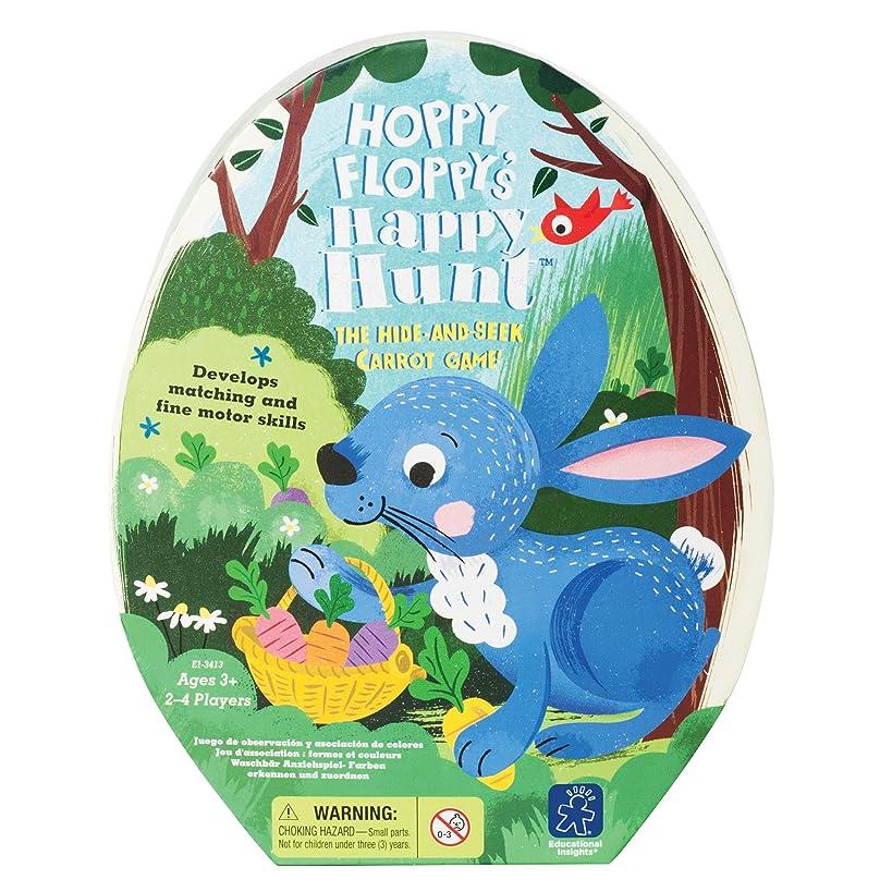 Educational Insights Hoppy Floppy's Happy Hunt Preschool Game