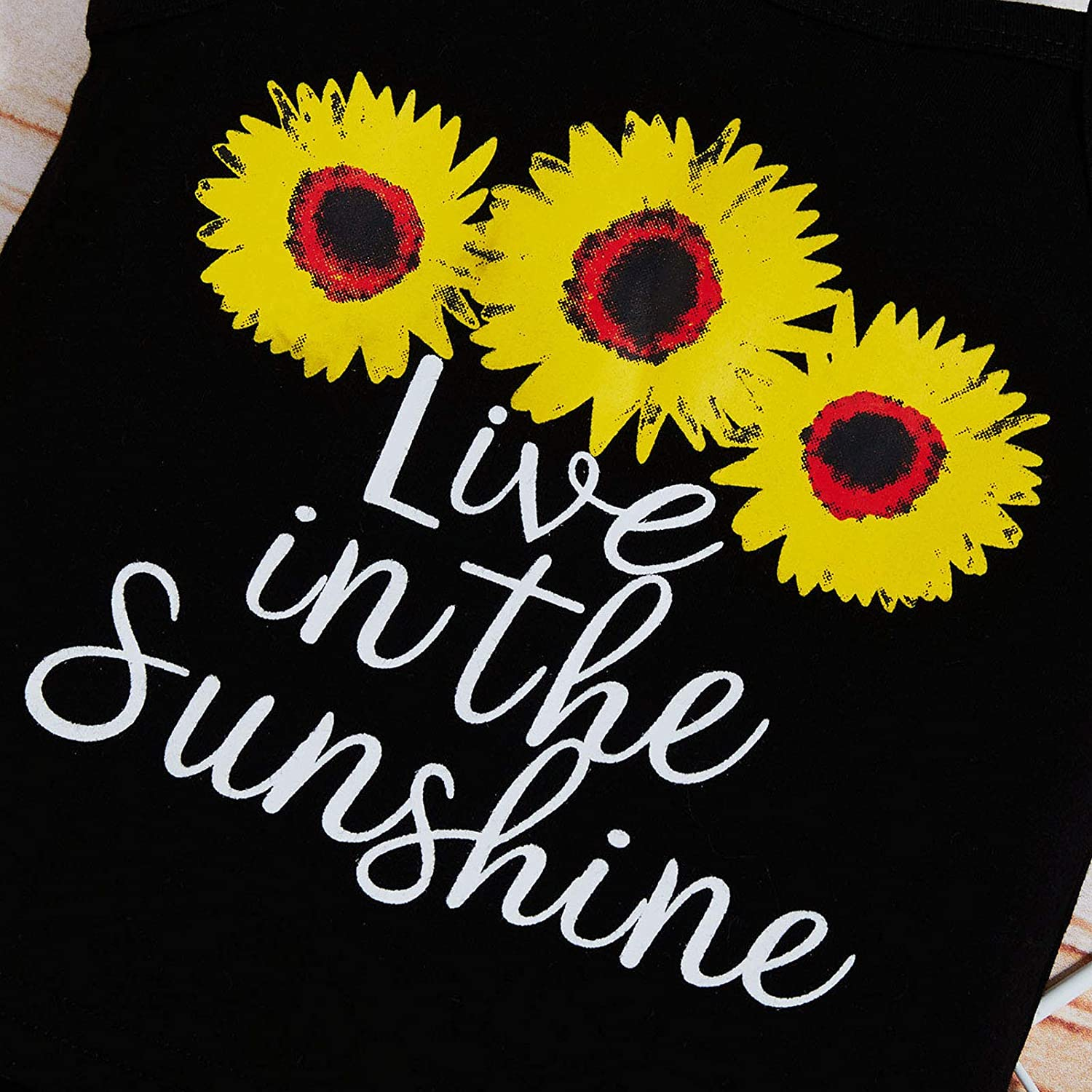 Baby Girl Summer Outfits Toddler Girl My Only Sunshine Tank Tops+Floral Shorts Sister Matching 2Pcs Clothes