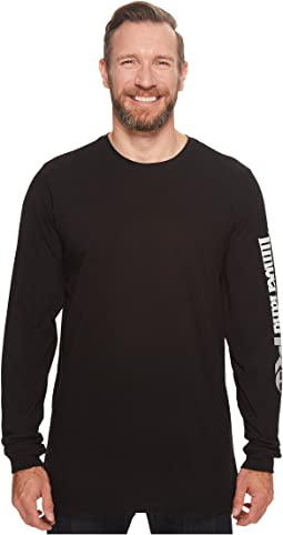 Timberland PRO - Base Plate Blended Long Sleeve T-Shirt with Logo - Tall