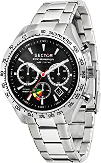 Men's 695 Automatic-self-Wind Sport Watch with Stainless-Steel Strap, Silver, 18 (Model: R3273613002)
