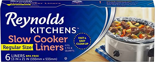 Reynolds Kitchens Premium Slow Cooker Liners - 13 x 21...