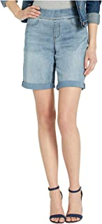 NYDJ Womens MANVSH2615 Pull-on Shorts with Roll Cuff Denim Shorts - Blue