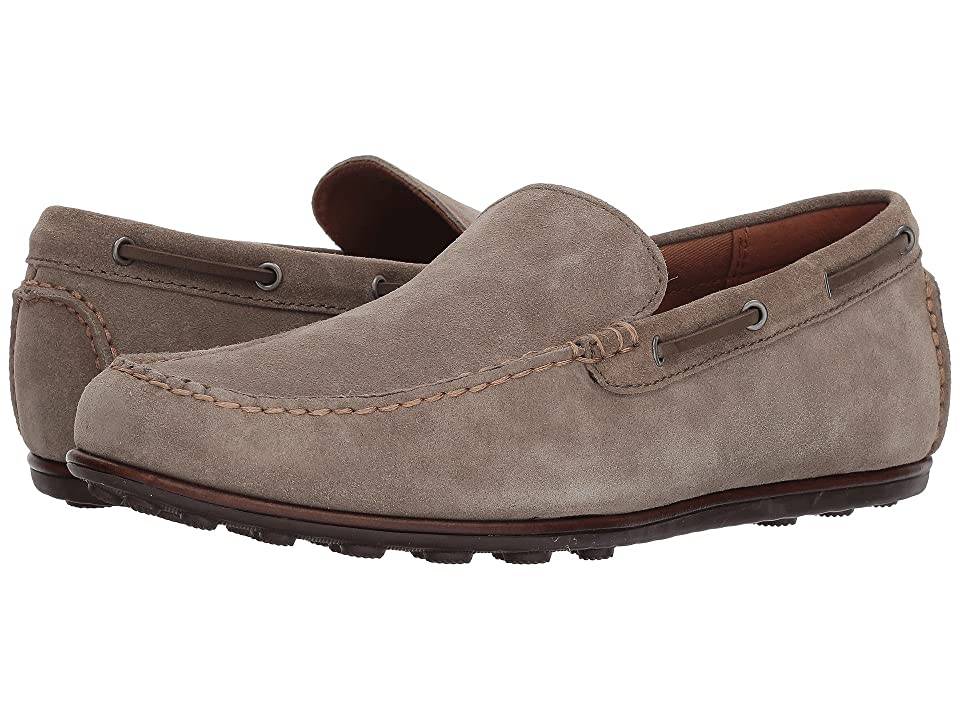 Frye Venetian Driving Moc (Grey Suede) Men