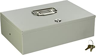 Buddy Products Cash Controller, Steel, 7.5 x 3.375 x 1.375 Inches, Platinum (5522-32)