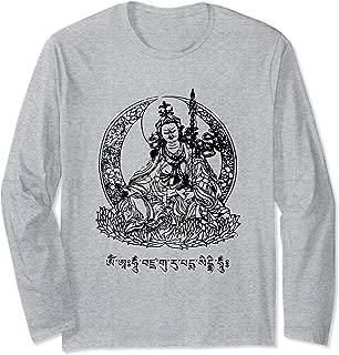 Padmasambhava Guru Rinpoche Tibetan Buddha Mantra Buddhist Long Sleeve T-Shirt