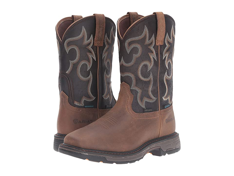 Ariat Workhog Wide Square WP Insulated (Rye Brown/Coffee) Men
