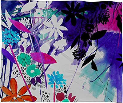 60 x 80 Deny Designs Ingrid Padilla Flower Country Fleece Throw Blanket