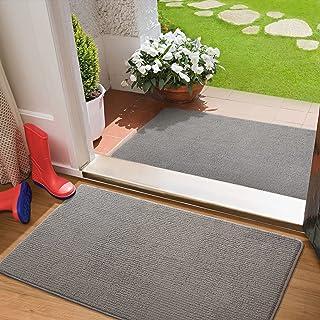 """2 Pack Color&Geometry Indoor Door Mat Entryway Rug Floor Mats for House, 24""""x36""""+24""""x36"""" Inside Indoor Mat for Front Door ..."""