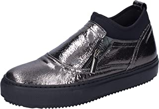 PHIL GATIER by REPO Loafer Flats Womens Leather Grey