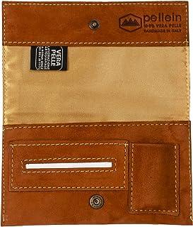 Pellein - Portatabacco in vera pelle Mexico - Astuccio porta tabacco, porta filtri, porta cartine e porta accendino. Handm...