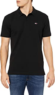 Tommy Hilfiger Tjm Classics Solid Stretch Polo Erkek Polo Yaka T-Shirt