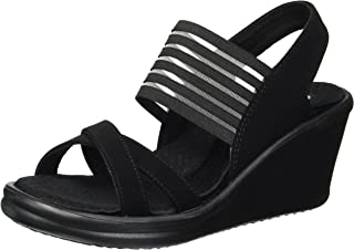 Skechers Women's Rumblers-Solar Burst Wedge Sandal