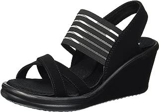 Skechers Women's Rumblers-Solar Burst Wedge Sandal