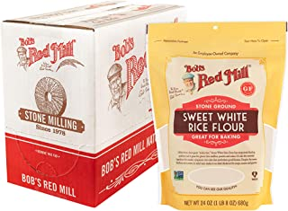 Bob's Red Mill Sweet White Rice Flour, 24 Oz (Pack Of 4)