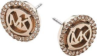 Women's MK Logo Stud Earring