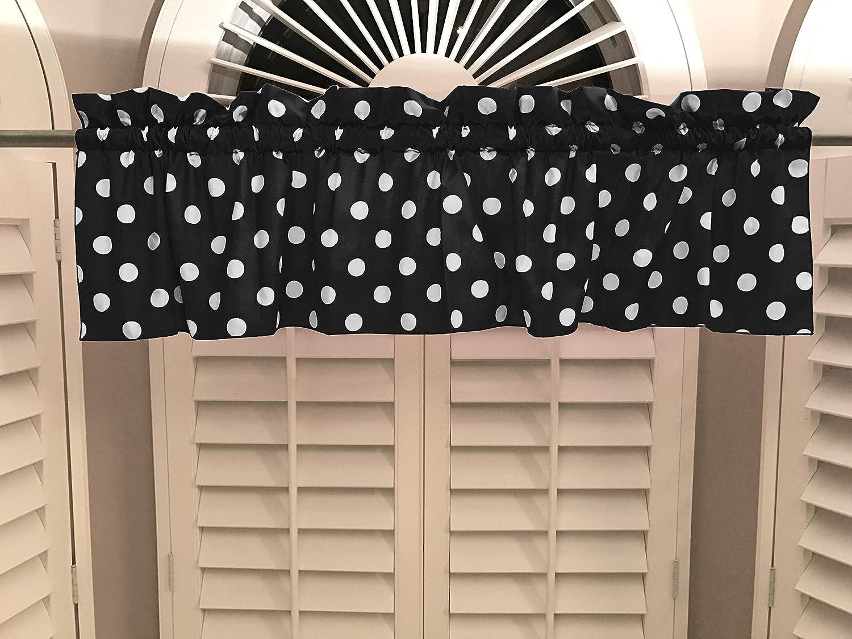 Zen Creative Designs Dallas Mall 2 Pack Decorative 2021 model Wh Curtain Valance Cotton