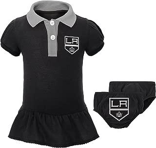 Outerstuff NHL Newborn & Infant Little Prep Polo & Diaper Cover Set