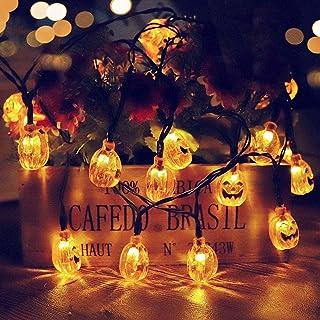 ハロウィ ソーラーライトストリング ハロウィン カボチャランタン 飾り LED 20球 カボチャ顔をしかめるハロウィーンガーデン風景装飾ランタン ストリングスライト 可愛いかぼちゃ 照明 ストリングライト 防水 点滅 屋外 室内 3m