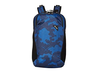 Pacsafe Vibe 20 Anti-Theft 20L Backpack (Blue Camo) Backpack Bags