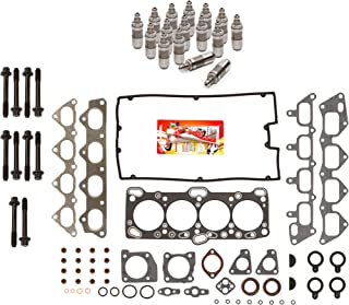 Domestic Gaskets HSHBLF5007 Lifter Replacement Kit fits 93-98 Mitsubishi Eagle Plymouth Turbo 4G63 4G63T Head Gasket Set, Head Bolts, Lifters