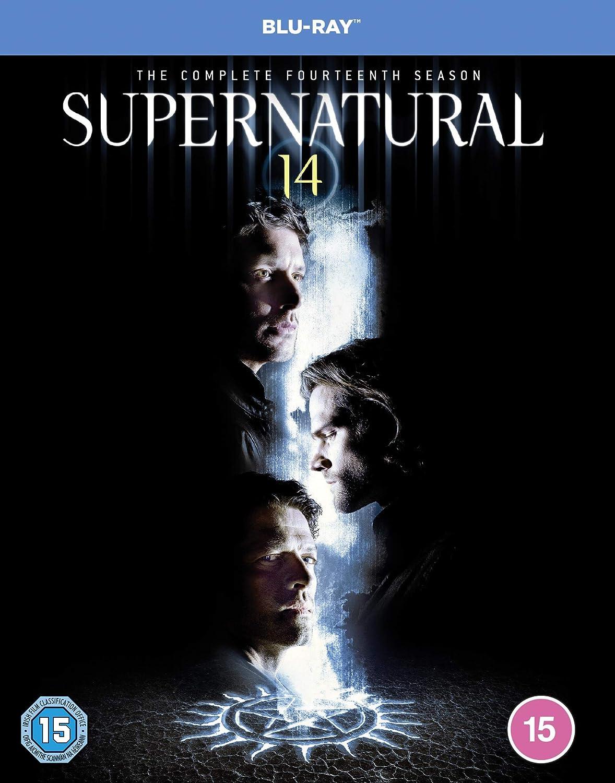 Supernatural Season 14 Blu-Ray [Edizione: Regno Unito] [Blu-ray]