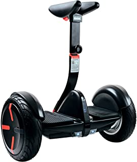 SEGWAY miniPRO Smart Self-Balancing Transporter | Adjustable and Removeable Steering Bar, 10.5-Inch Pneumatic Air Filled Tires, Dual 400W Motor, Mobile App, LED Lights, UL2272 Certified