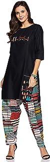 CEEMAYA Women's Cotton Readymade Salwar Suit
