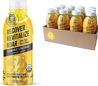 Organic Golden Tiger Turmeric Lemonade - Inflammation Relief, Immunity Support & Recovery Beverage : Bio Active Curcumin +...