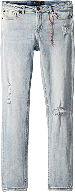 Giselle Rip and Repair Jeans in Tori Wash (Big Kids)