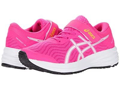 ASICS Kids Patriot 12 (Toddler/Little Kid) (Pink Glo/White) Girls Shoes