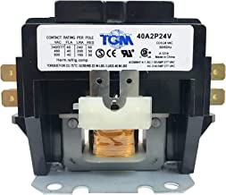TGM Contactor 2 Pole 40 Amps 24 Coil Voltage Heavy Duty