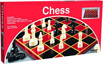 Pressman Chess  – with Folding Board and Full Size Chess Pieces