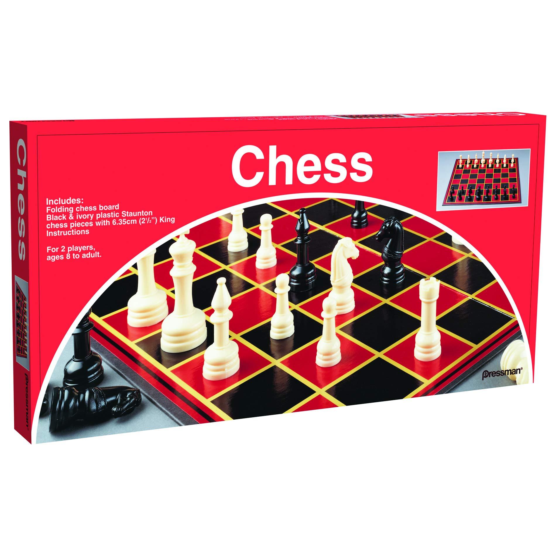 Pressman 21251 Toy Chess Set
