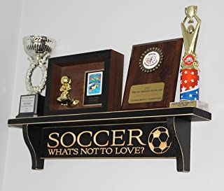 SOCCER - What's not to love? - Soccer Trophy Shelf Display