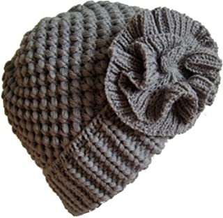 Frost Hats Winter Hat for Women Girl Teen's Winter Thick Knit Beanie Ski Hat M-10A