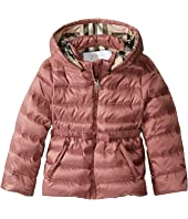 Burberry Kids - Mini Janie Checked Hood Jacket (Infant/Toddler)