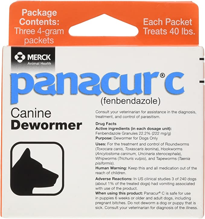 Panacur C Canine Dewormer   Amazon