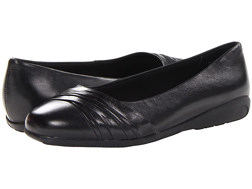 Walking Cradles Flick (Black Waxy Soft Leather) Women