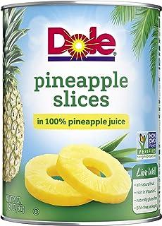 Dole, Pineapple Slices in Juice, 20 Oz