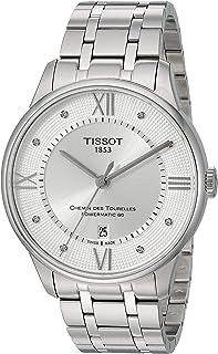 mens Chemin Des Tourelles Stainless Steel Dress Watch Grey T0994071103300