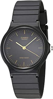 Men's MQ24-1E Black Resin Watch